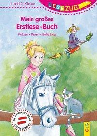 Cover von LESEZUG/1.-2. Klasse: Mein großes Erstlese-Buch - Katzen, Hexen, Ballerinas