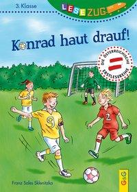 Cover von LESEZUG/3. Klasse: Konrad haut drauf!