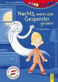 Cover von LESEZUG/Vor- und Mitlesen: Nachts, wenn sich Gespenster gruseln