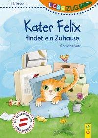 Cover von LESEZUG/1. Klasse: Kater Felix findet ein Zuhause