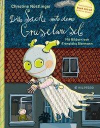 Cover von Die Sache mit dem Gruselwusel (Buch+CD)
