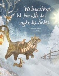 Cover von Weihnachten ist für alle da, sagte die Katze