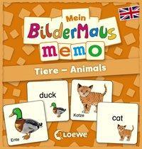 Cover von Mein Bildermaus-Memo - Englisch - Tiere - Animals