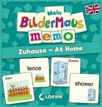 Cover von Mein Bildermaus-Memo - Englisch - Zuhause - At Home