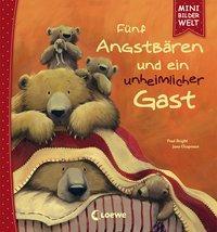 Cover von Mini-Bilderwelt - Fünf Angstbären und ein unheimlicher Gast