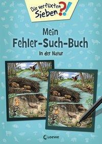 Cover von Die verflixten Sieben - Mein Fehler-Such-Buch