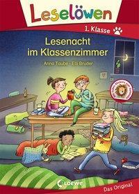 Cover von Leselöwen 1. Klasse - Lesenacht im Klassenzimmer