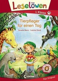Cover von Leselöwen 1. Klasse - Tierpfleger für einen Tag