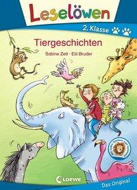 Cover von Leselöwen 2. Klasse - Tiergeschichten