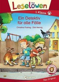 Cover von Leselöwen 1. Klasse - Ein Detektiv für alle Fälle