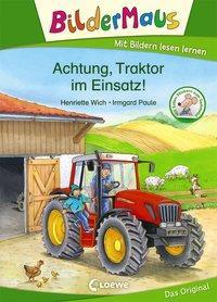Cover von Bildermaus - Achtung, Traktor im Einsatz!