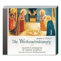 Cover von CD »Die Weihnachtshistorie (SWV 435)«