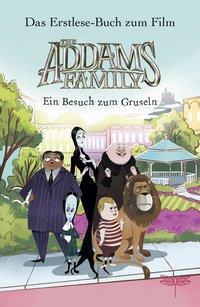 Cover von The Addams Family - Ein Besuch zum Gruseln. Das Erstlese-Buch zum Film