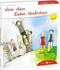 Cover von Von den Zehn Geboten den Kindern erzählt