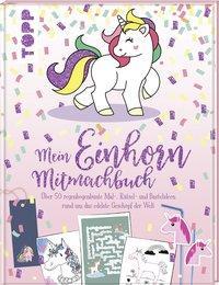 Cover von Mein Einhorn-Mitmachbuch