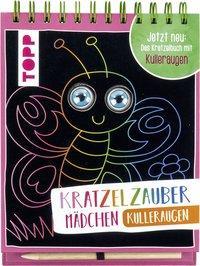 Cover von Kratzelzauber Kulleraugen für Mädchen