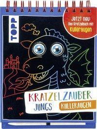 Cover von Kratzelzauber Kulleraugen für Jungs