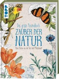 Cover von Das große Ausmalbuch Zauber der Natur