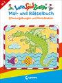 Cover von LernSpielZwerge Mal- und Rätselbuch - Schwungübungen und Koordination