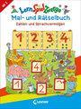 Cover von LernSpielZwerge Mal- und Rätselbuch - Zahlen und Sprachvermögen