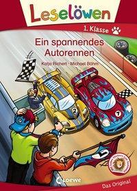 Cover von Leselöwen 1. Klasse - Ein spannendes Autorennen