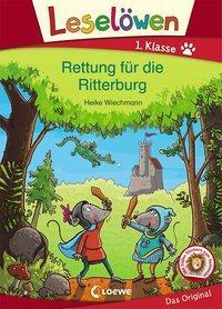 Cover von Leselöwen 1. Klasse - Rettung für die Ritterburg