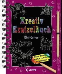 Cover von Kreativ-Kratzelbuch: Einhörner