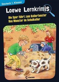 Cover von Loewe Lernkrimis - Die Spur führt zum Kellerfenster / Das Monster im Schulkeller