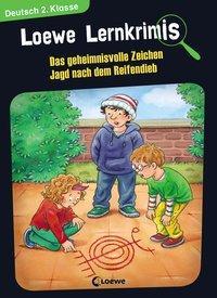 Cover von Loewe Lernkrimis - Das geheimnisvolle Zeichen / Jagd nach dem Reifendieb