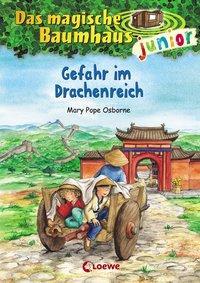 Cover von Das magische Baumhaus junior - Gefahr im Drachenreich