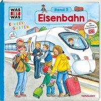 Cover von WAS IST WAS Kindergarten, Band 9. Eisenbahn