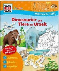 Cover von Mitmach-Heft Dinosaurier und Tiere der Urzeit