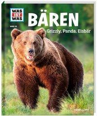 Cover von WAS IST WAS Band 115 Bären. Grizzly, Panda, Eisbär