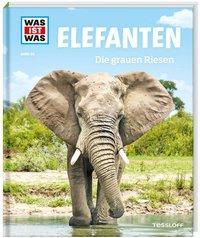 Cover von WAS IST WAS Band 86 Elefanten. Die grauen Riesen