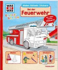Cover von WAS IST WAS Kindergarten. Bei der Feuerwehr