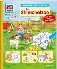 Cover von WAS IST WAS Kindergarten. Im Streichelzoo