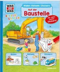 Cover von WAS IST WAS Kindergarten. Auf der Baustelle