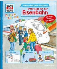Cover von WAS IST WAS Kindergarten. Unterwegs mit der Eisenbahn