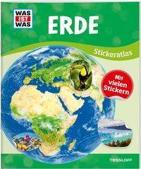 Cover von WAS IST WAS Sticker-Atlas Erde