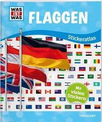 Cover von WAS IST WAS Sticker-Atlas Flaggen