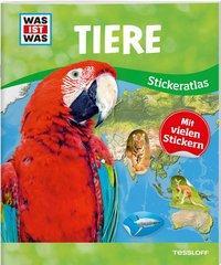 Cover von WAS IST WAS Sticker-Atlas Tiere