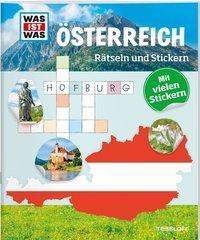 Cover von Rätseln und Stickern: Österreich