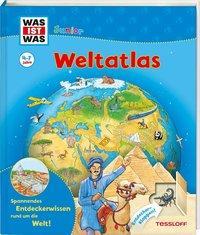 Cover von WAS IST WAS Junior Weltatlas für Kinder