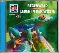 Cover von WAS IST WAS Hörspiel-CD: Regenwald/ Leben in der Wüste