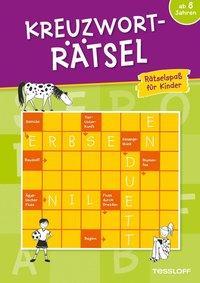 Cover von Kreuzworträtsel: Rätselspaß für Kinder ab 8 Jahren