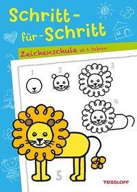 Cover von Schritt-für-Schritt. Zeichenschule ab 6 Jahren