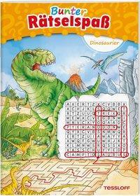 Cover von Bunter Rätselspaß Dinosaurier ab 7 Jahren