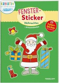 Cover von Fenster-Sticker. Weihnachten