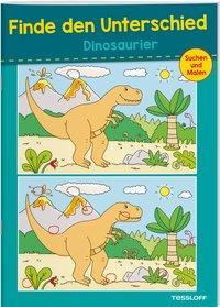 Cover von Finde den Unterschied. Dinosaurier