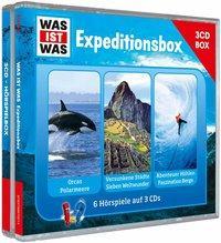 Cover von WAS IST WAS 3-CD-Hörspielbox Expedition